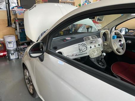 Fiat500C オイル交換