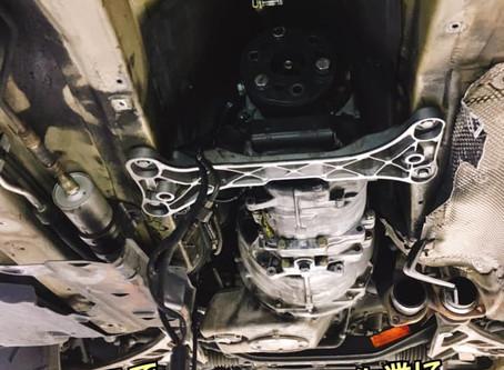 E46M3 IRPシフター取り付け
