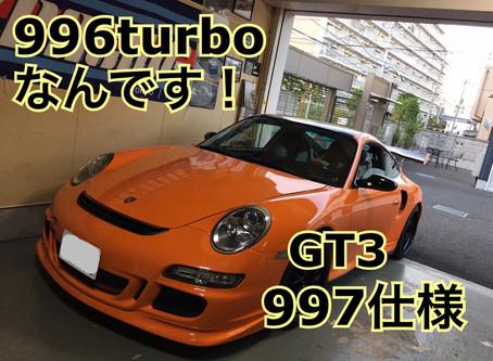 996turbo 997GT3仕様 点検/フードダンパー