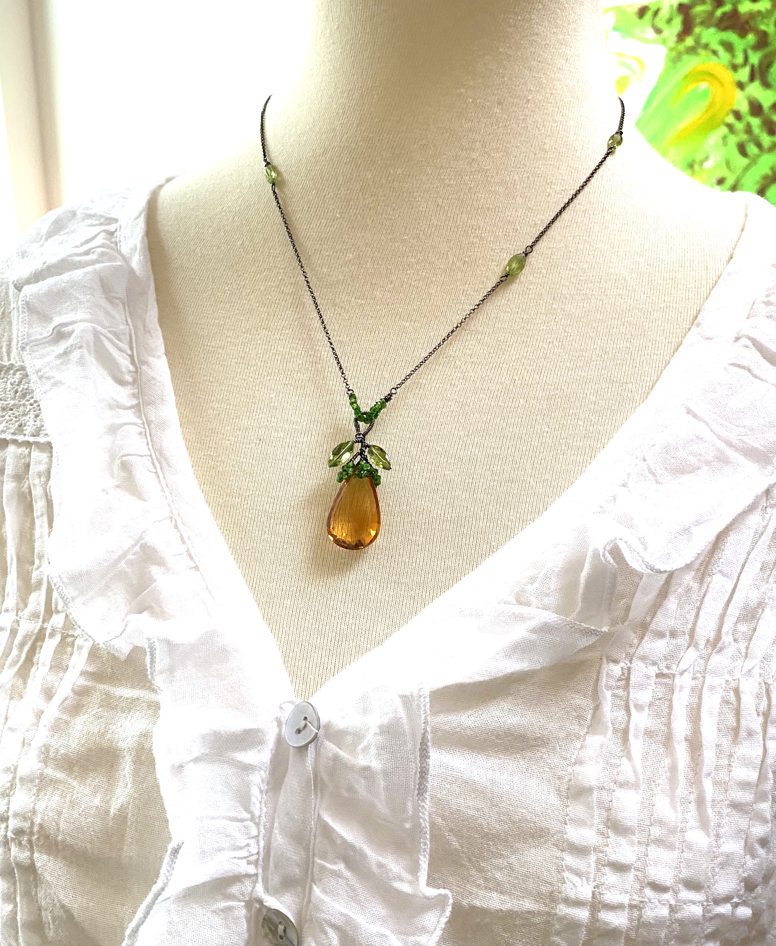 Veronica Fruit Necklace