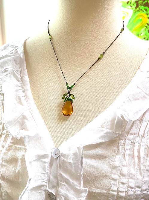 Fruit Pendant Necklace