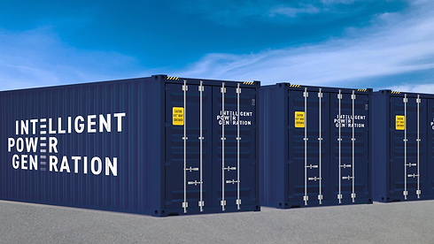 IPG Shipping Container - temporary power