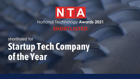 IPG shortlisted for startup of the year at the National Technology Awards 2021