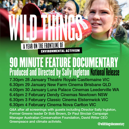 2021 Screenings across Australia!