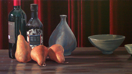 Still Life with Three Pears