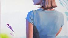 Kay Turning, 2019. oil on canvas, 29x24