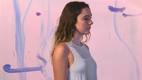"Sequoia, 2019, oil on canvas, 26x30"""