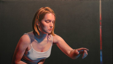 Conversent Thinking, 2008, oil on canvas, 22x30 in.