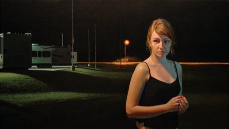 Island-Must Quit You, 2010, oil on canvas, 30x48 in.