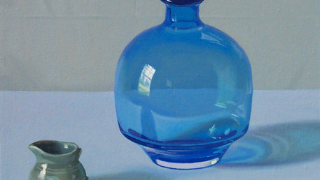 Still Life with a Blue Glass