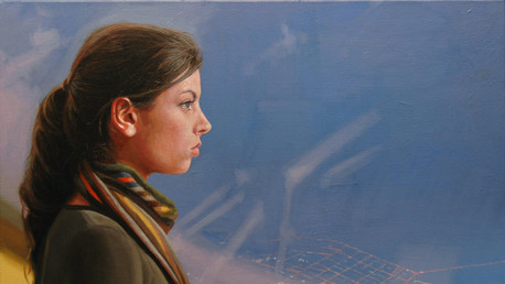 You Are the Conductor, 2010, oil on canvas, 22x28 in.