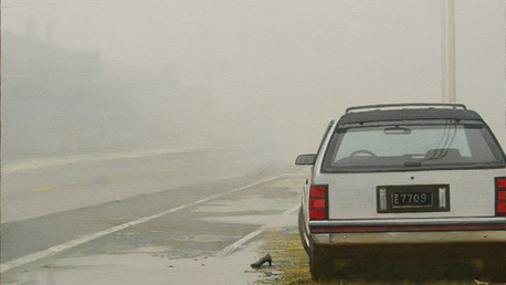Fog_, 1996-2010, oil on canvas, 24x30 in. /private collection