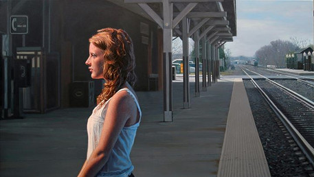 Departures - Continuum, 2011, oil on canvas, oil on canvas, 29x46 in. /private collection