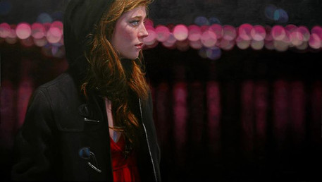 The Winter Break, 2013, oil on canvas, 26x46 in. /private collection