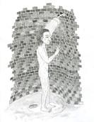 Showering Man