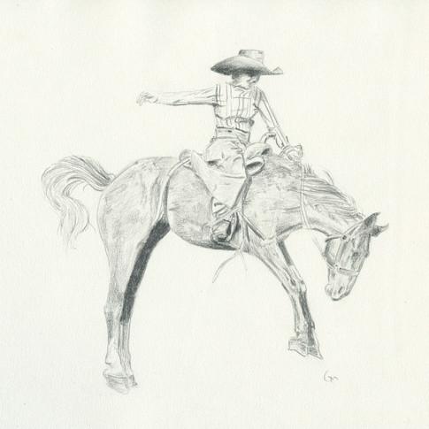 Lady Bronc Rider