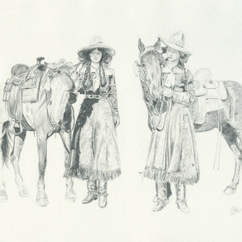 Two Cowgirls