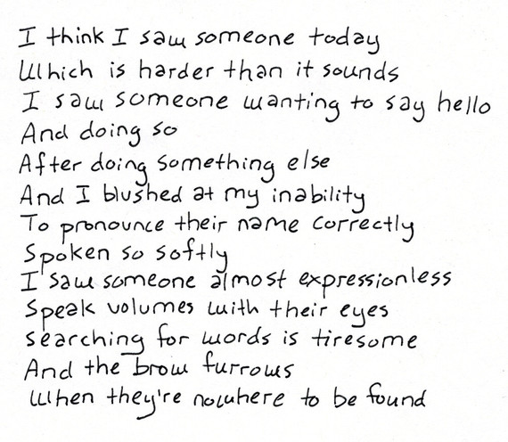 Seeing Someone