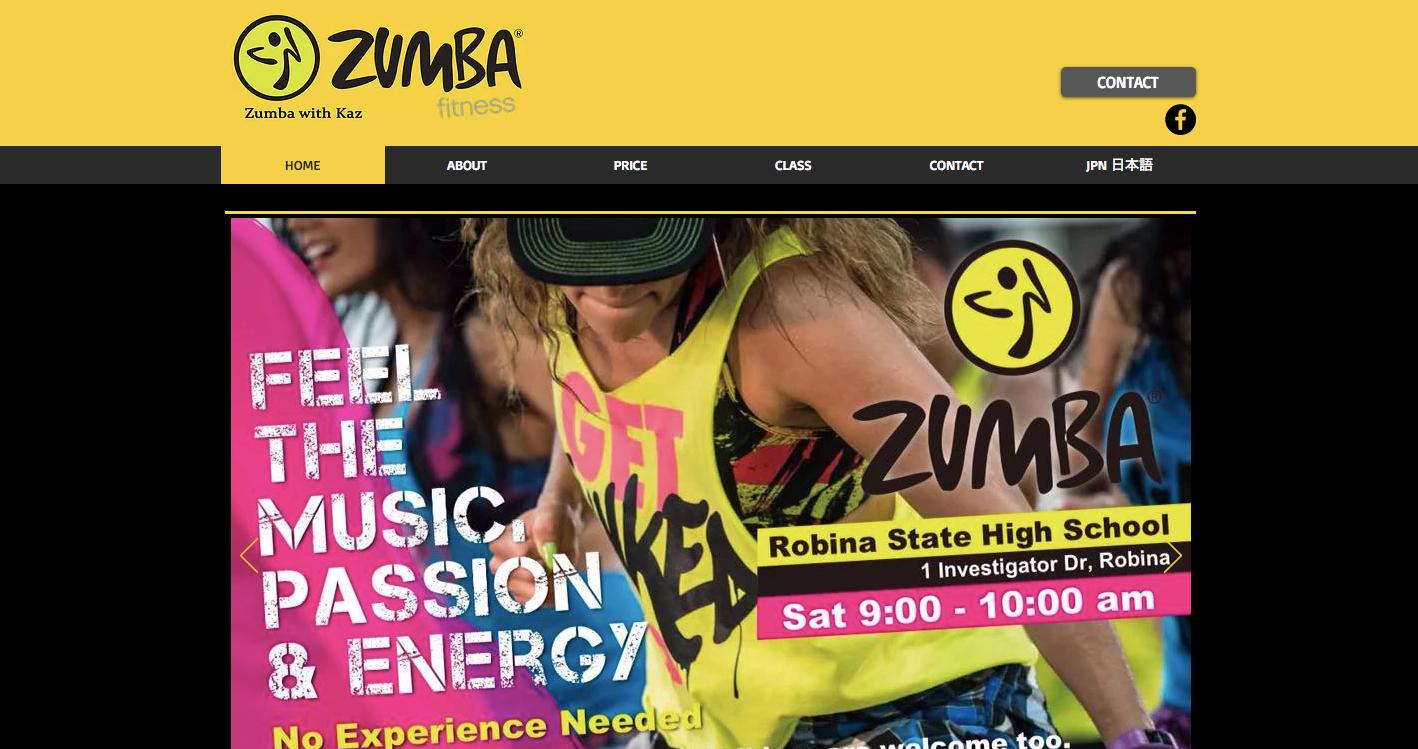 Zumba with Kaz