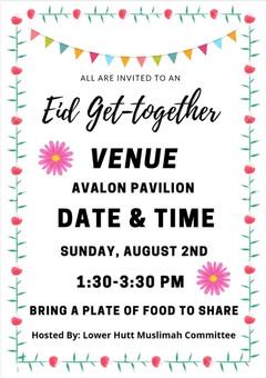 Eid get-together