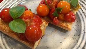 Tomato Confit Bruschetta