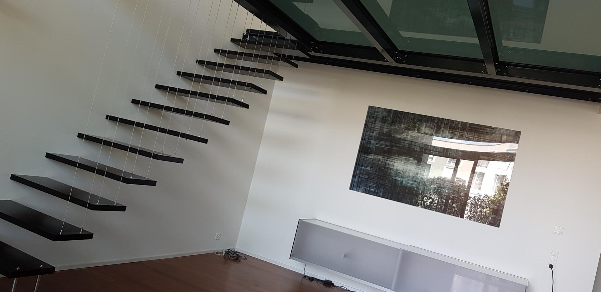 Treppen und Holzböden