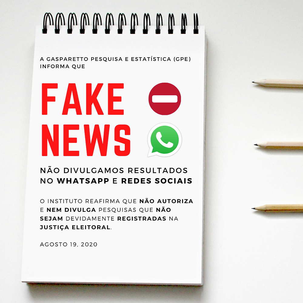 GPE não divulga resultados em redes sociais e Whatsapp