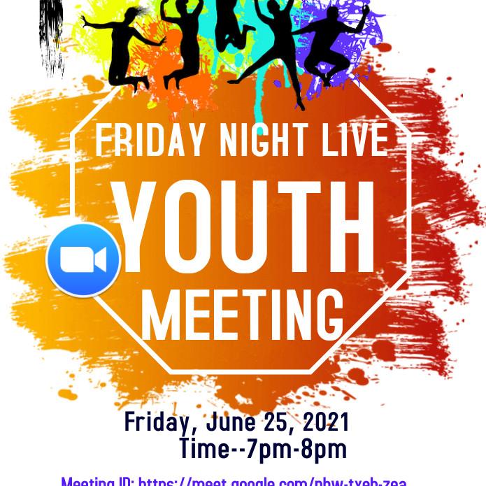 LHE Youth Night  Hosted by: Loch Hill Ekklesia Christian Church
