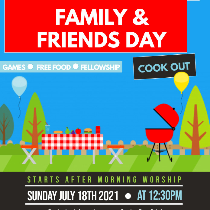LHE Family & Friends Day Cookout