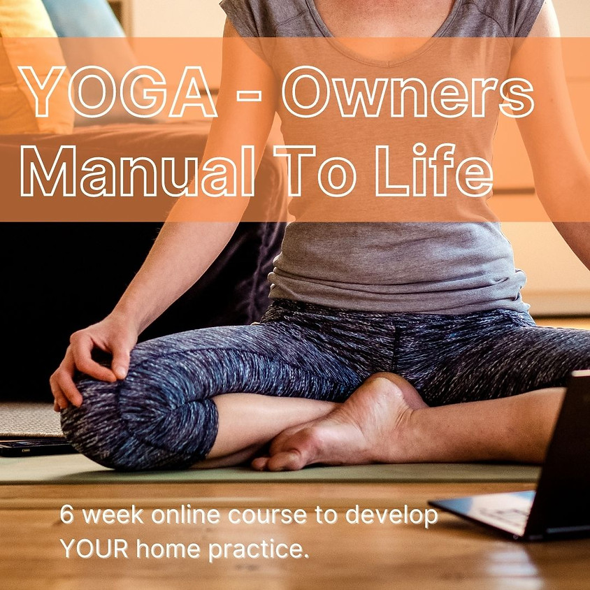 Yoga - The owner's manual to life!   Ancient teachings - modern times.