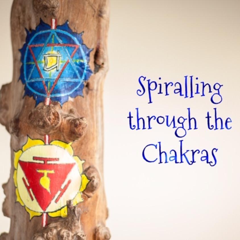 Spiraling through the Chakras