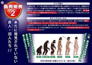 進化論は偽科学!!