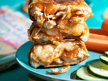 BBQ Chicken Pizza Pockets