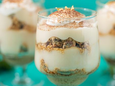 Vegan Chocolate Chunk Cookie Tiramisu