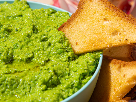 Smashed Pea and Mint Spread