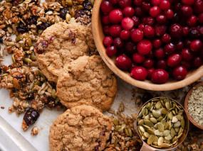 Cranberry Cookie Snack Mix