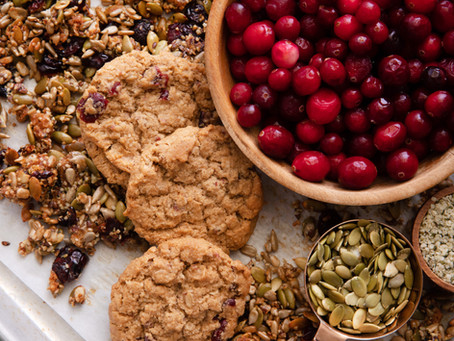 Cranberry Cookie Snack Mix