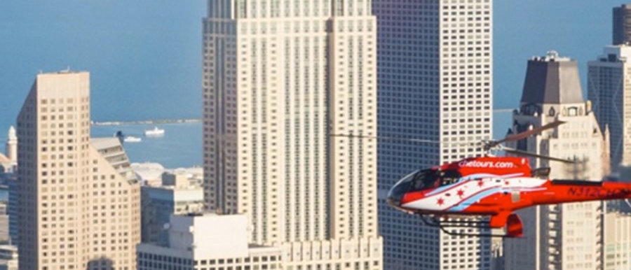 Take A Helicopter Through The Historic Chicago Skyline