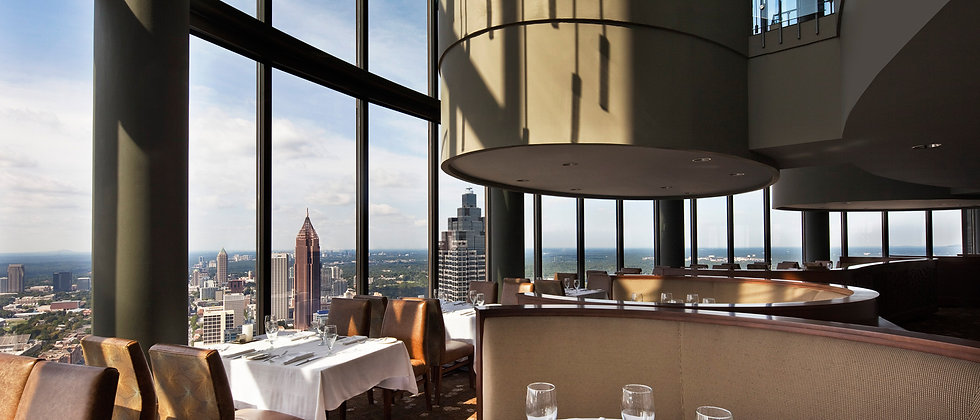 The Sun Dial Restaurant At Atlanta