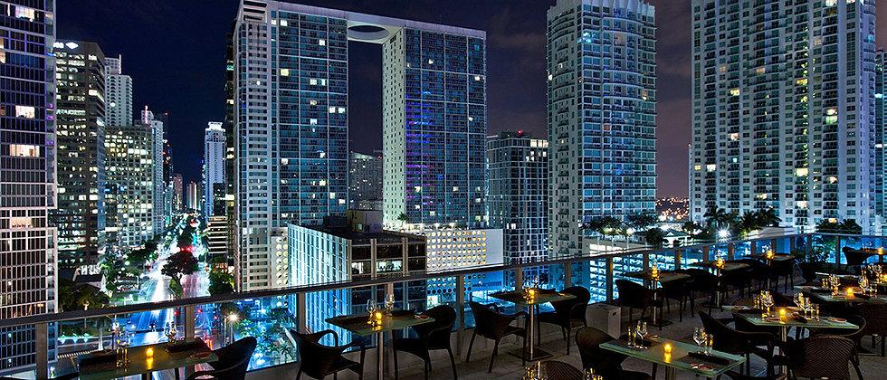 Rooftop Bar At Miami