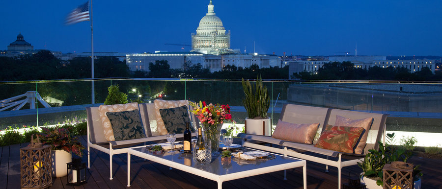 Rooftop Terrace Reception At The Observatory At America's Square