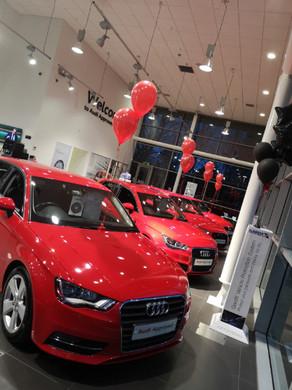 corporate decor car showroom promotional