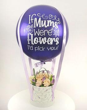 Mothers Day Hot Air Balloon Flower Arran
