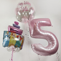 Diney Princess foil supershape balloon airel belle rapunzel cinderella.jpg