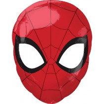 "Spiderman Head Junior Shape Helium Balloon 17"""
