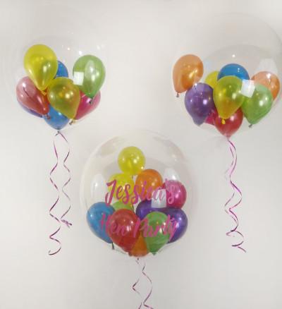 rainbow hen party pride balloon manchest