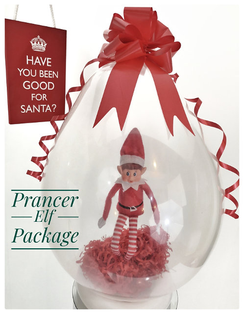 Elf in a balloon - Prancer Package