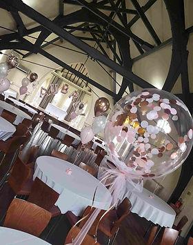 balloon package luxury christening ballo