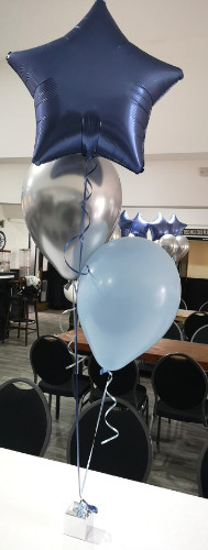 plain foil and latex balloon bunch bundl