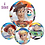 Thumbnail: Toy Story Balloon 4 Sided Orbz Balloon - Woody, Sporky, Buzz, Jessy & Bo Peep